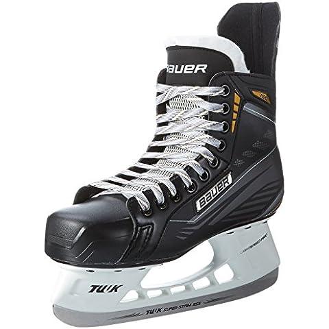 Bauer Schlittschuhe Supreme 150 - Senior - Patines de hockey sobre hielo, color negro, talla 07.5 / 42.5