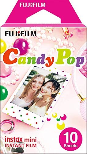 Fujifilm Instax Mini Instant Film, Candy Pop, Einzelpackung