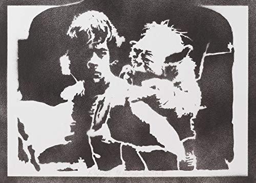 Luke Skywalker Und Yoda STAR WARS Poster Plakat -