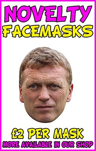 David Moyes Novelty Celebrity Face Mask Party Mask Stag Mask