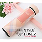 Style HomeZ Stainless Steel Double Wall Vacuum Insulated Flask/Thermos Travel Water Bottle Sipper 480 Ml (Pink Color, SHTWBVFSSS005)