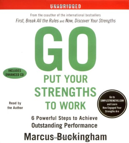 Go Put Your Strengths To Work: Learn the Three Vital Skills for Flourishing at Work: Six Powerful Steps to Achieve Outstanding Performance
