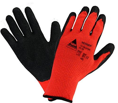 Arbeitshandschuhe Thermo Winter-Handschuhe NEOGRIP für Montage. Handschuh aus Baumwolle/Polyest, Schutz gegen mechanische Gefahren, Kühlhaus, Kälteschutz - Größe: 9