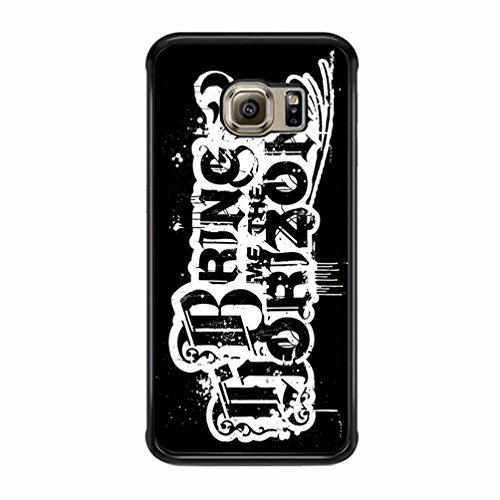 Bmth Logo Bring Me The Horizon Funda Samsung Galaxy S6 Edge Plus Fall [negro Plastic] E0J0IN