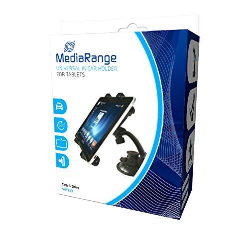 MediaRange Kfz-Universalhalterung für Tablet-PCs und andere mobile Endgeräte, mit Saugnapf