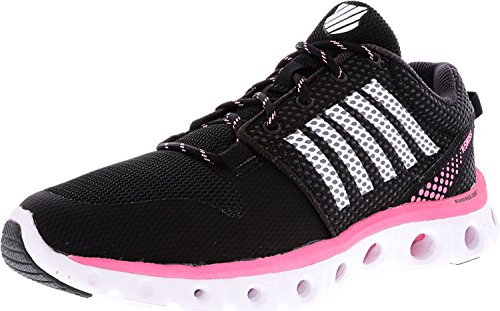 K-swiss Performance X Lite Athletic Cmf, Aptitud De Scarpe Donna Black / Pink Lemonade / White