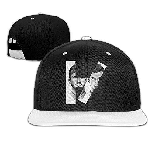 Hittings Music Twenty One Pilots Logo Adjustabl Snapback Hats / Baseball Hats / Hip-hop Cap White par  Hittings