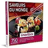 SMARTBOX - Coffret Cadeau homme femme couple - Saveurs du monde - idée cadeau - 750 restaurants : 1 repas exotique pour 2...