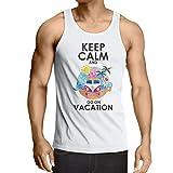 lepni.me Camisetas de Tirantes para Hombre Ir de vacaciones, trajes lindos, ropa de playa, ropa de...