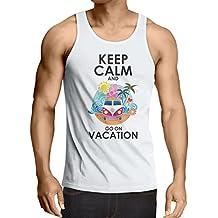 Camisetas de Tirantes para Hombre Ir de vacaciones, trajes lindos, ropa de playa,