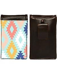 Nutcase Designer Travel Waist Mobile Pouch Bag For Men, Fanny Pack With Belt Loop & Neck Strap-High Quality PU... - B075N2YQNP