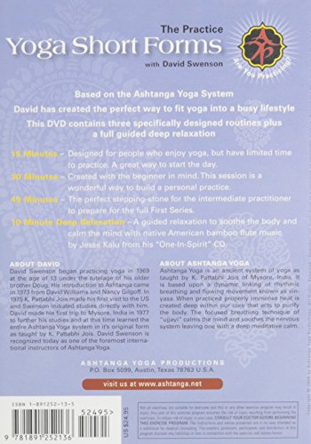 Zoom IMG-1 ashtanga yoga short forms dvd
