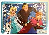 Disney Verschiedene Tischunterlagen/Platzdeckchen/Malunterlage/Knetunterlage/Eßunterlage (4 Stück, Frozen Eiskönigin 2)