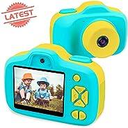 (Blue) - Joytrip Kids Digital Cameras for Boys HD 1080P Video Camera for Kids Children Selfie Camera Kids Toy