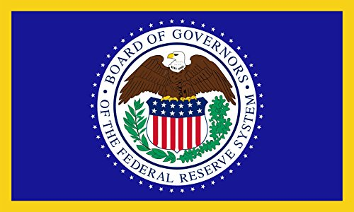 magFlags Flagge: Large United States Federal Reserve Bank | Querformat Fahne | 1.35m² | 90x150cm » Fahne 100% Made in Germany (States Bank United)