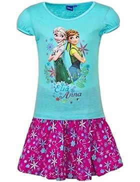 Frozen - Die Eiskönigin T-Shirt und Rock Kollektion 2017 Set 98 104 110 116 122 128 Mädchen Kurzarmshirt Elsa...