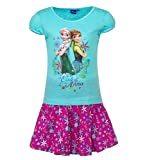 Frozen - Die Eiskönigin T-Shirt und Rock Kollektion 2017 Set 98 104 110 116 122 128 Mädchen Kurzarmshirt Elsa Disney B
