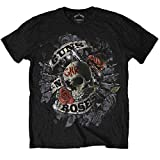 Guns N Roses OFFICIAL Firepower Black T-Shirt Axl Rose Slash Duff McKagan