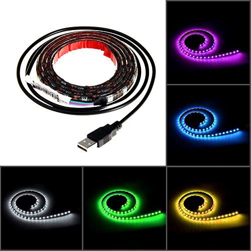 Led-Streifen-Led-Strip-Beleuchtung-1M-60Leds-IP65-Wasserdicht-5050-SMD-Rgb-Led-mit-Mini-Controller-und-USB-Kabel-fr-Flachbildschirm-Schrank-Heim-Dekorative-Energieklasse-A