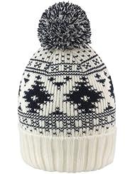 Result - Bonnet tricoté à pompon - Adulte Unisexe