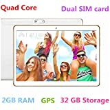 10 Inch 3G Phablet Support Netflix Youtube Quad Core 32GB ROM 2GB RAM