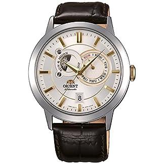 Orient Reloj Analógico para Hombre de Automático con Correa en Cuero FET0P004W0
