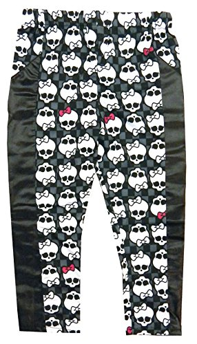 Monster High Creeperific Leggings Girl's Size 8-10