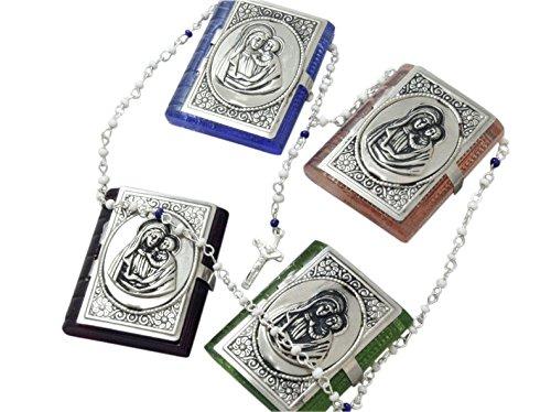 Criss Cross vetro Mini rosario madonna cm/* *