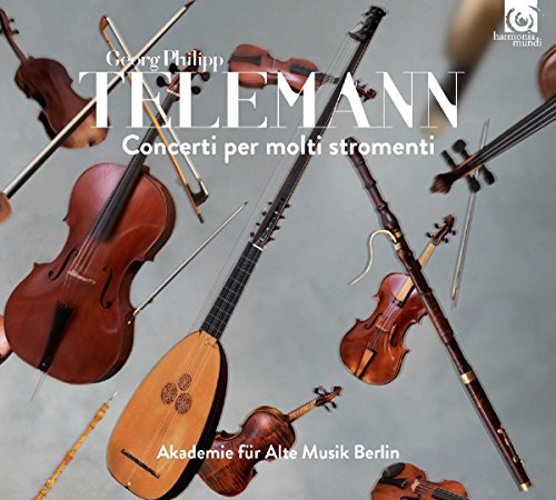 Concerti per multi stromenti | Georg Philipp Telemann, Compositeur