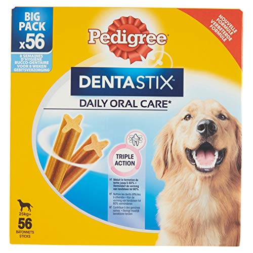 PEDIGREE Large Dogs Snack per L'Igiene Orale Box Da 56 Sticks