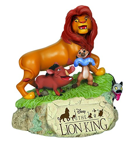 Precious Moments Disney rey León Musical figura decorativa