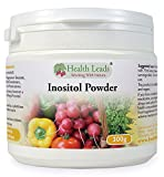 100% Pure Inositol (Myo-Inositol) Powder 300g (Vegan) from Health Leads UK