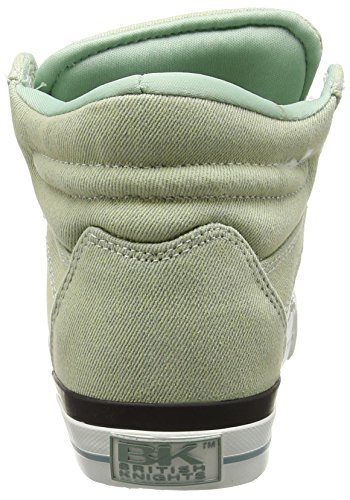 British Knights Dee, Baskets hautes femme Vert - Grün (Mint 01)