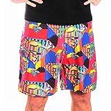 Superman Herren Badeshorts - Colour Logo Mens Boardshorts (XL)