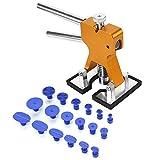 Riola Repair Tools Kit–Auto dent Lifter Glue Lockvogel Automotive Body Hagel Hohlraum, Entnahme Repair Tool-Set, PDR Werkzeuge mit 1Zweihebelmischer Dent Repair Lifter und 18Saugnapf Taben