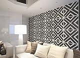 HomeArtDecor, Geometrische Wandkunst, 3D Wandpaneele, Wandverkleidung, Dekorative Wandpaneele, Wandpaneele, Geometrische Kunst, Verkleidung