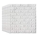 Papier peint de briques de mousse de Faux de panneaux de mur auto-adhésifs 3D pour...