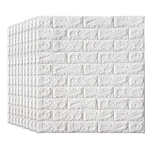 tklebende Wände 3D Faux-Schaum-Ziegelstein-Tapete für Fernsehwände/Sofa-Hintergrund-Wand-Dekor (größe : 20 Pack) ()