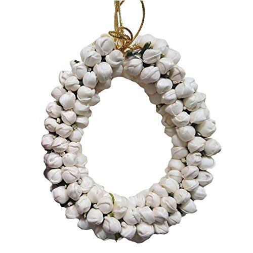 Fashion Shopperrz White Jasmine Artificial Flower hair Accessories Gajra,White