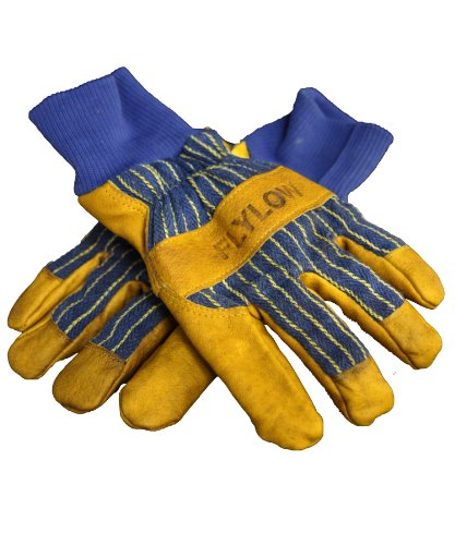 flylow Herren 's Tough Guy Handschuhe, Herren, Tan/Blue (Flylow Ski-handschuhe)