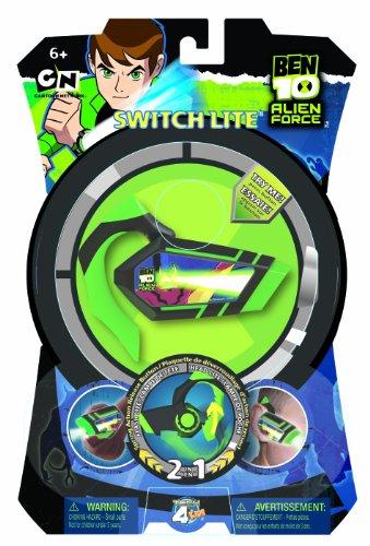 Beluga Spielwaren 38923 - Switch Lites Ben 10 2 in 1 Taschenlampe Da-lite-switch