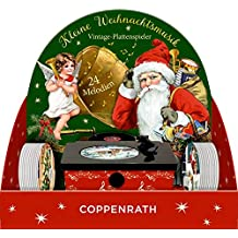 Coppenrath Unique Vintage Musical Gramophone Advent Calendar - Premium Made in Germany - 24 Changeable Vinyls with a Different Tune Every Day