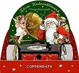 Sound-Adventskalender - Kleine Weihnachtsmusik: Vintage-Plattenspieler mit 24 Melodien -