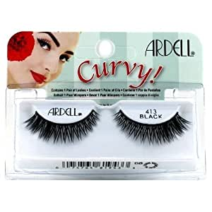 (3 Pack) ARDELL Lashes Curvy Collection - Black 413 by Ardell
