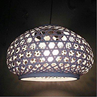HCCX Lampe suspendue Lanterne Autres Fonctionnalité for Style mini Bois,Bambou Salle de séjour Salle à manger white