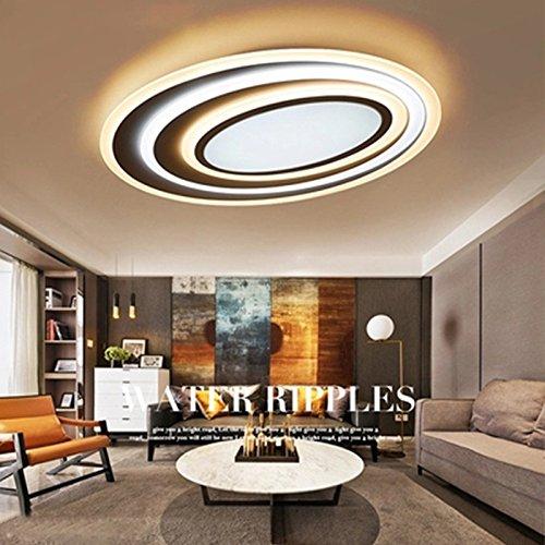 Xqk semplice e moderno soggiorno camera da letto della lampada lamp lampada da soffitto semplice e moderno circolare creative wedding camera da letto matrimoniale completa bianca 50 * 40cm