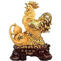 Artigianato Gallo Modelli La Placcatura Resina Ornamenti Negozio Affari Creativi Regali Regali Di Festa Gold