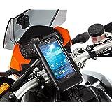 Ultimate Addons Motorrad mit Strom versorgt Hardwire M6 Befestigung mit Schrauben Lenkerklemmung wasserdichte Schutzhülle für Samsung Galaxy S4 i9500