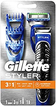 Gillette Fusion ProGlide Styler, Beard trimmer & Power R