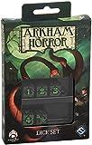 Grün-Schwarz Arkham Horror Würfel Set